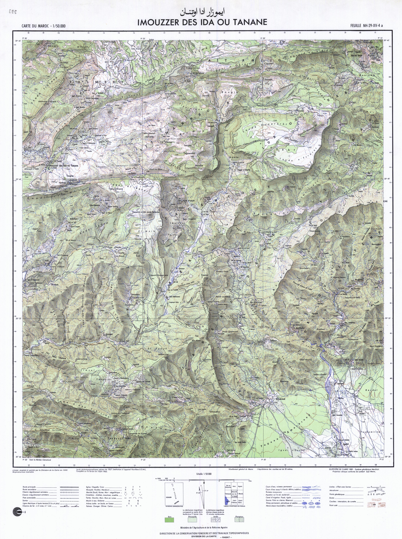 Topographie au maroc
